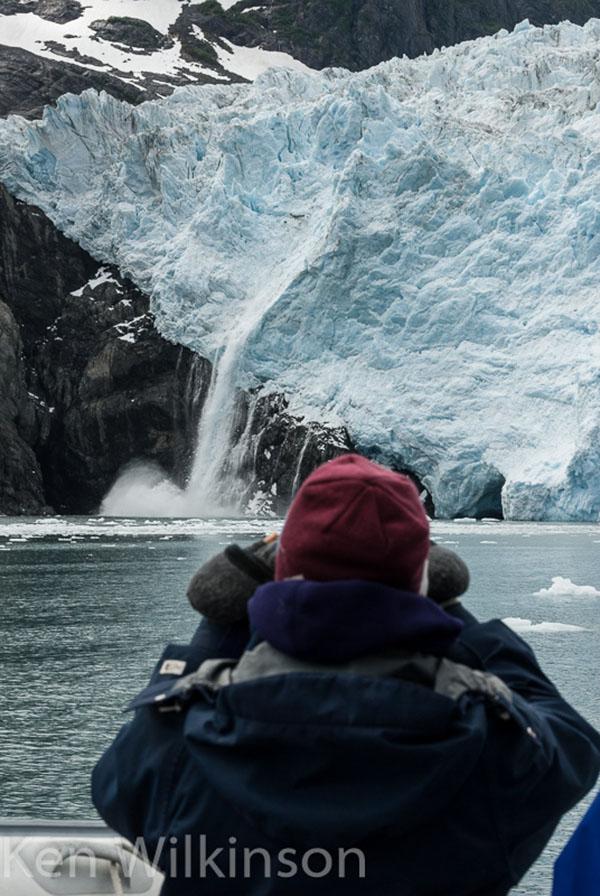 Calving Glaciers Up Close